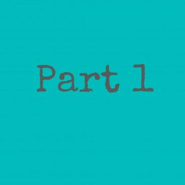 My Journey ….. Part 1