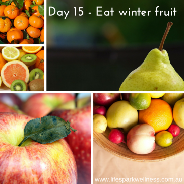 Winter Wellness Challenge  Day 15 – Eat seasonal fruits