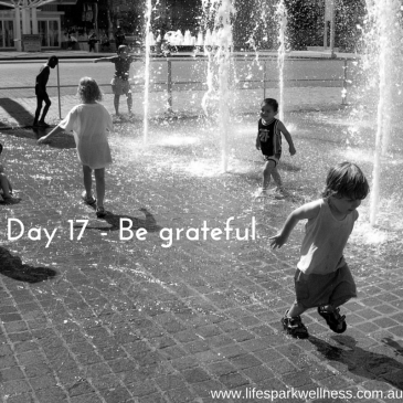 Winter Wellness Challenge  Day 17 – Be grateful