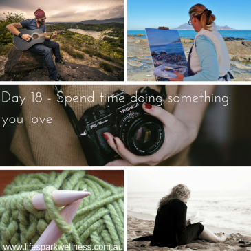 Winter Wellness Challenge Day 18 – Spend time doing something you love