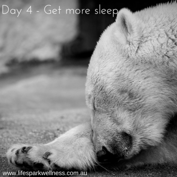 Winter Wellness Challenge Day 4 – Get more sleep