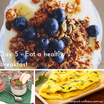 Winter Wellness Challenge Day 5 – Eat a healthy breakfast