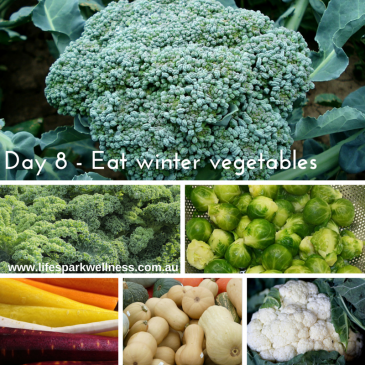 Winter Wellness Challenge  Day 8 – Eat vegetables that are in season