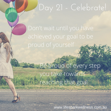 Winter Wellness Challenge  Day 21 – Celebrate!