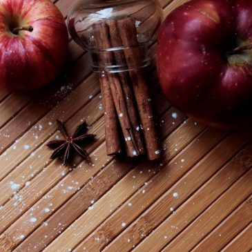 Recipe (blood sugar balancing): Cinnamon Apples